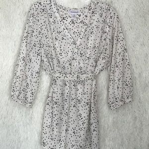 Motherhood Flower Speckled Tunic